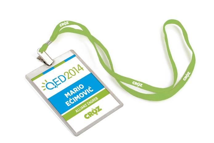 Vizualni identitet konferencije QED shift agencija mostar