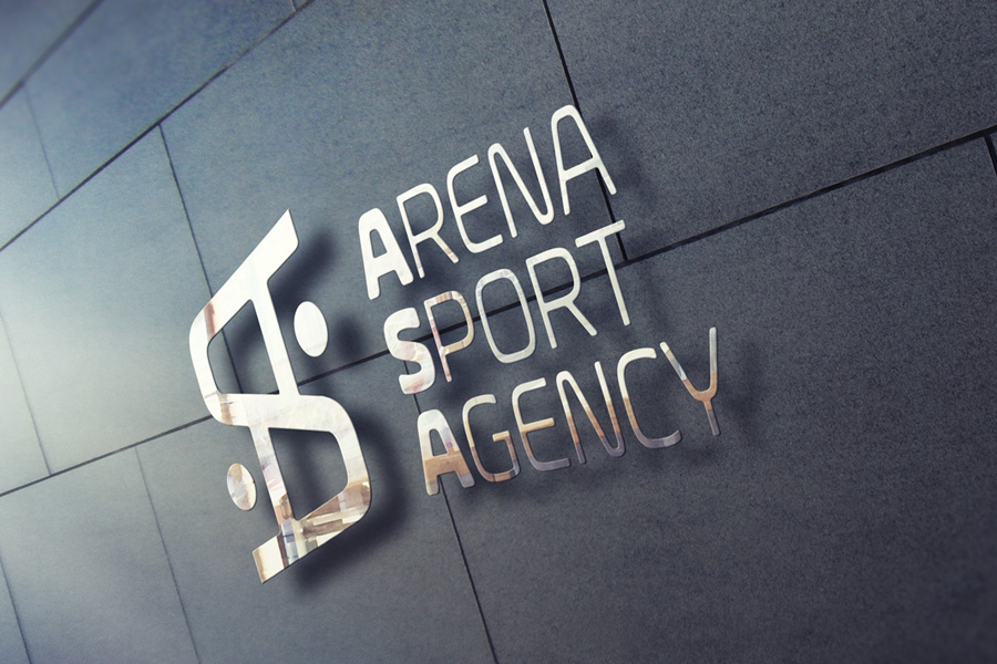 Visual Identity for Arena Sport Agency