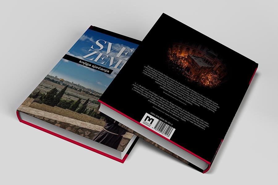 Grafički dizajn knjige «Sveta Zemlja knjiga sjećanja»  book layout Shift