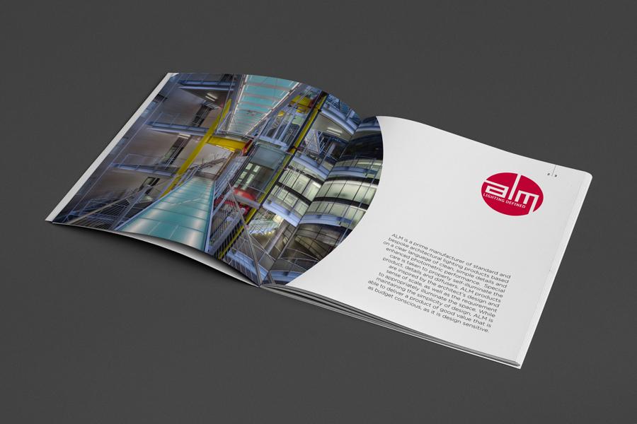 Dizajn vizualnog identiteta i kataloga proizvoda tvrtke ALM