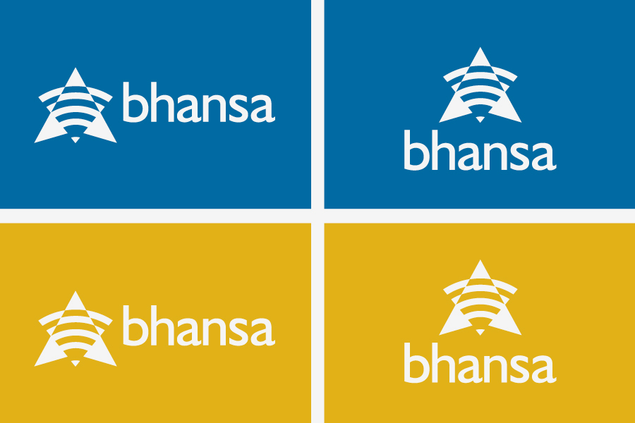 BHANSA vizualni identitet, logotip