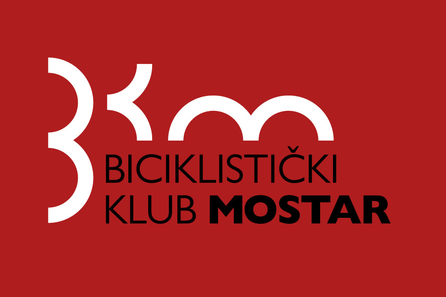 Dizajn logotipa Biciklistički klub Mostar