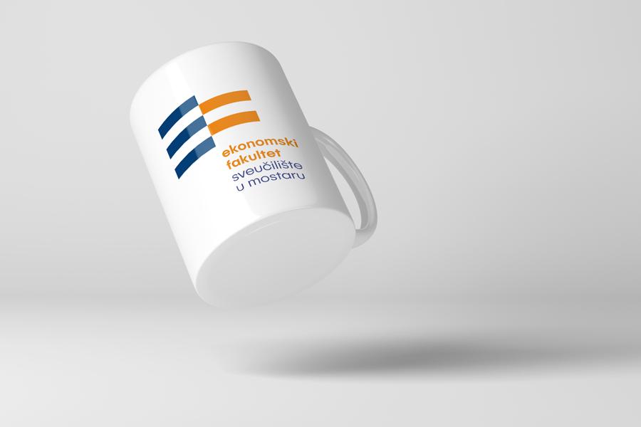 Dizajn logotipa Ekonomskog fakulteta u Mostaru