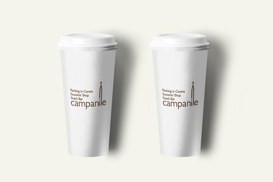 Vizualni identitet Campanile Restorana shift agencija