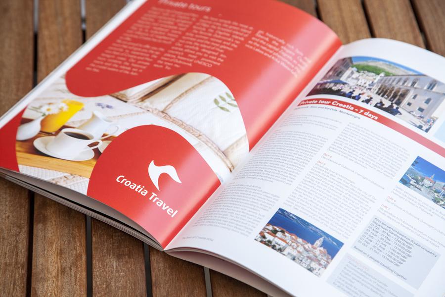 vizualni identitet turističke agencije croatia travel shift.ba