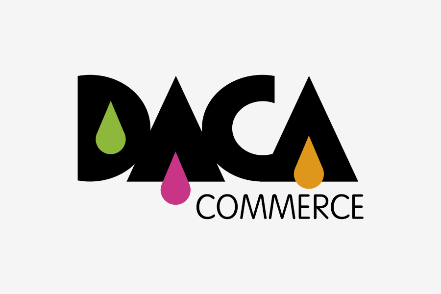 vizualni identitet daca commerce shift brand design