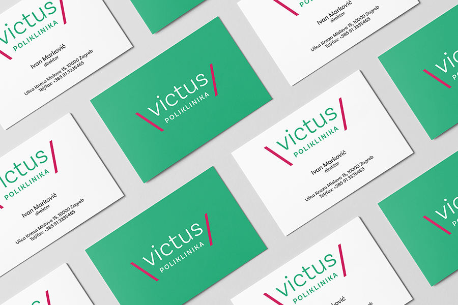 Identity and signage for the urological clinic in downtown Zagreb (Croatia)