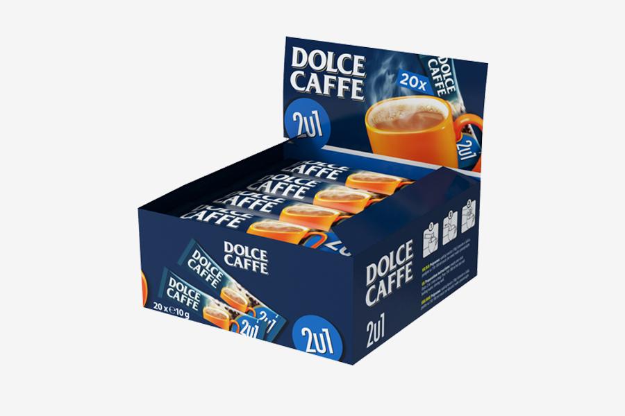 vizualni identitet kolekcije proizvoda - Dolce caffe