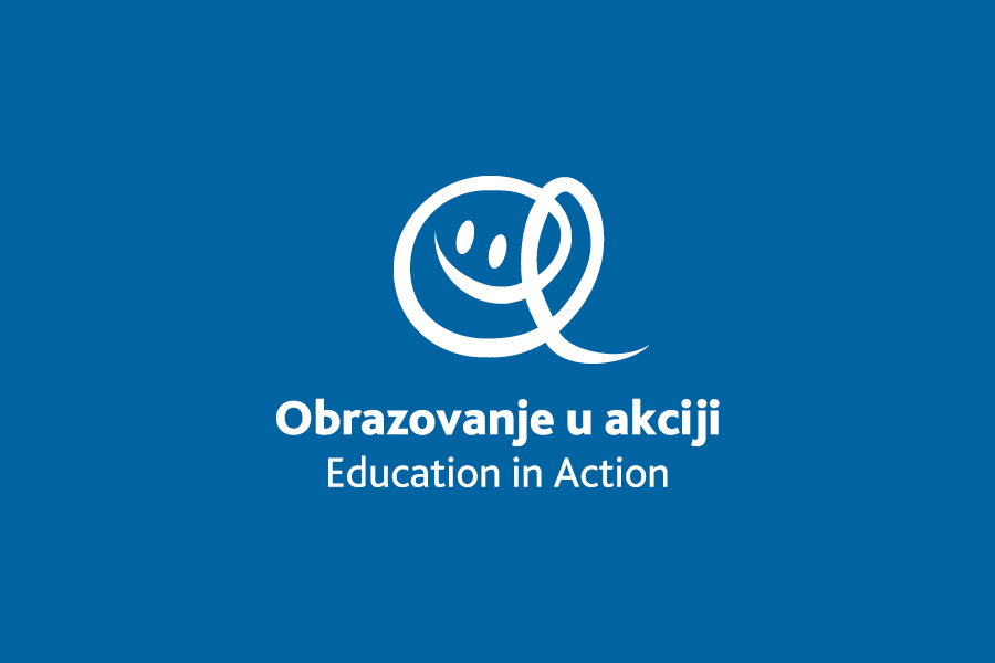 Dizajn logotipa Education in Action, shift mostar