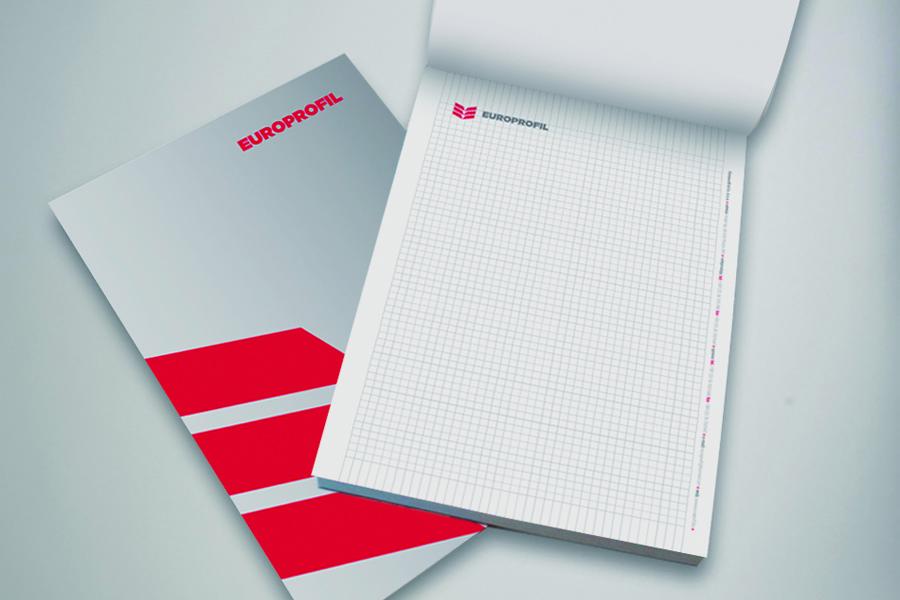 vizualni identitet europrofil aplikacija logotipa