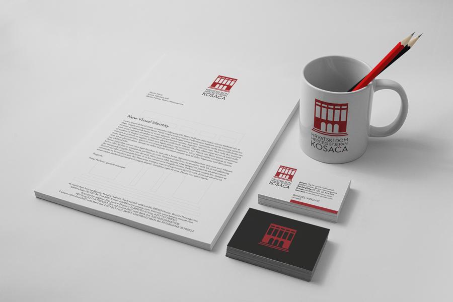 Vizualni identitet Hrvatskoga doma HSK logotip
