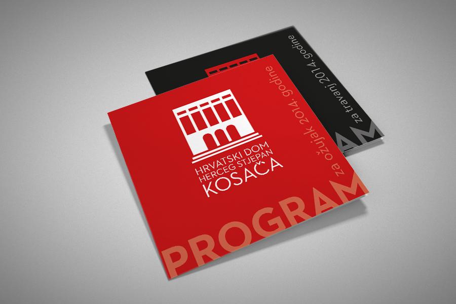 Vizualni identitet Hrvatskoga doma HSK program shift agencija