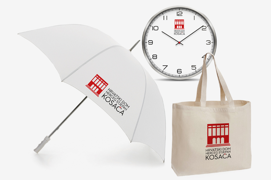 Vizualni identitet Hrvatskoga doma HSK logotip shift agencija