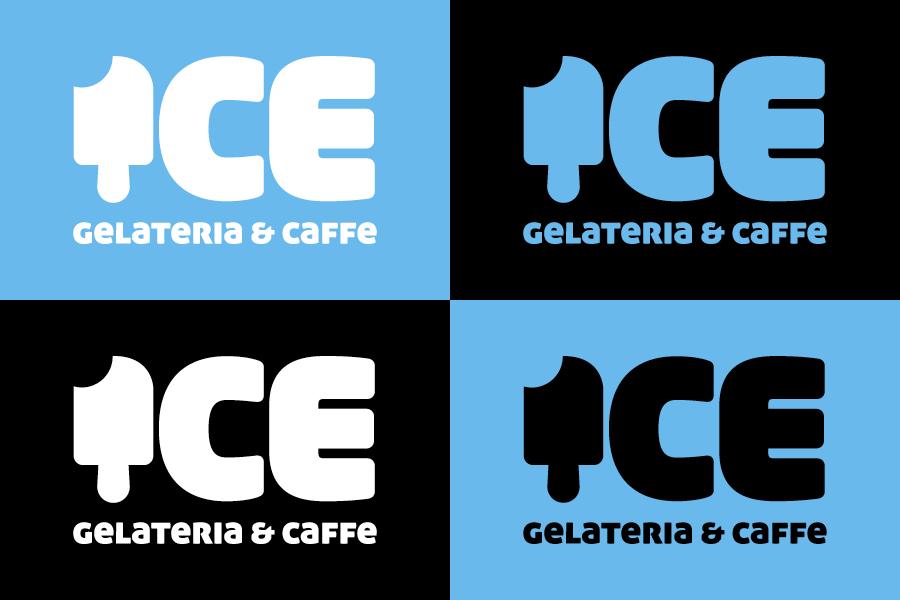 Vizualni identitet caffe slastičarnice dizajn logotipa