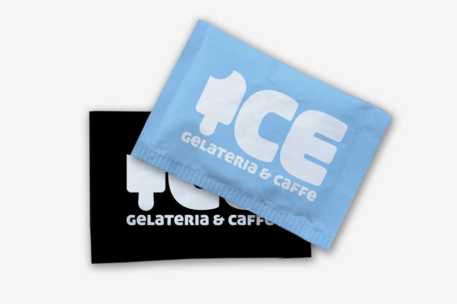 Vizualni identitet caffe slastičarnice vrećice za šećer
