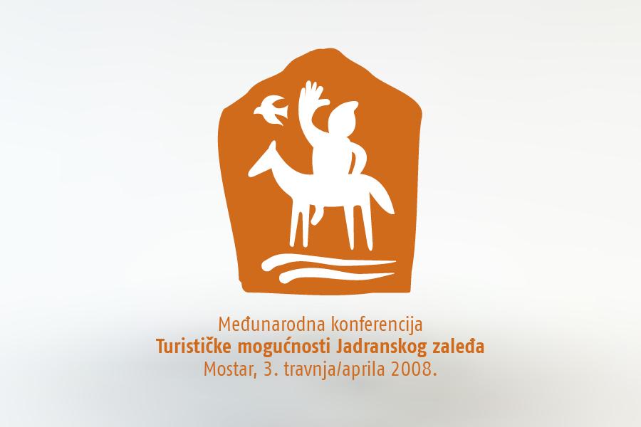 međunarodna konferencija o turizmu, vizualni identitet, dizajn logotipa