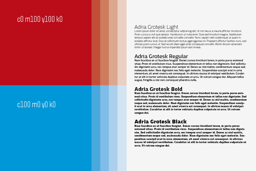 vizualni identitet kroativ, shift agencija mostar, tipografija, boje