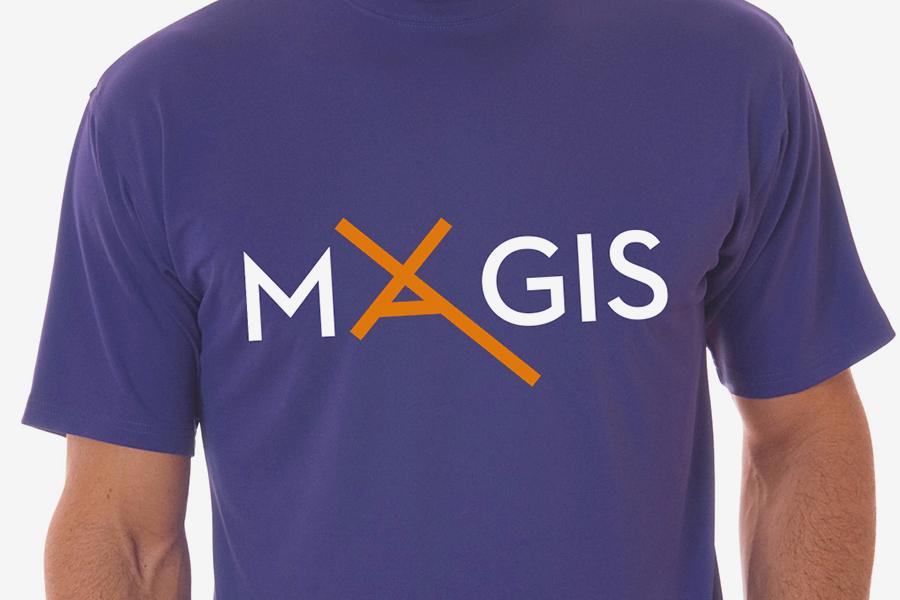 aplikacija logotipa na majicu, udruga magis zagreb