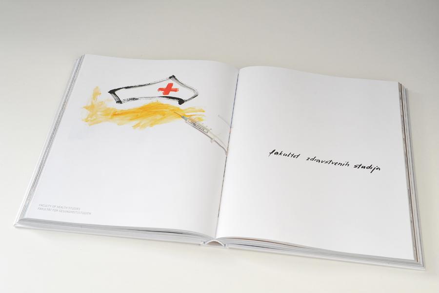 Dizajn monografije Sveučilišta u Mostaru, knjiga