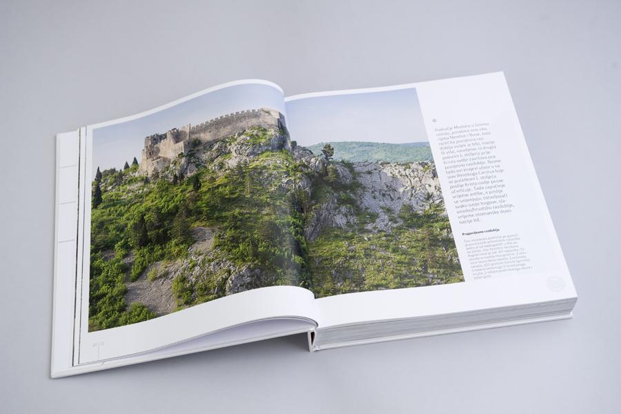 Dizajn monografije Sveučilišta u Mostaru, knjiga, prijelom shift agencija