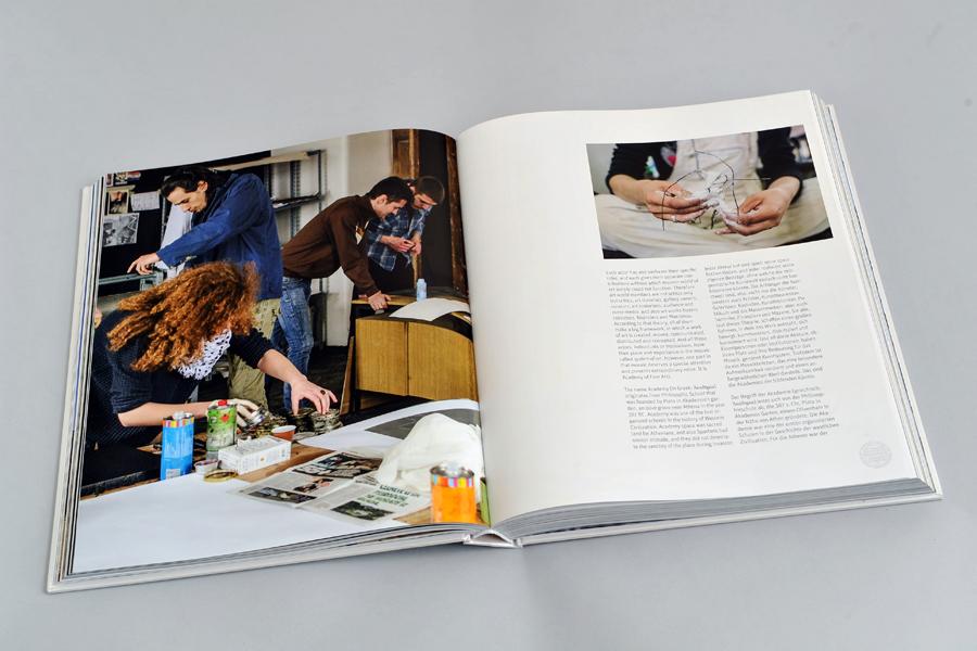 Dizajn monografije Sveučilišta u Mostaru, layout, prijelom dizajn