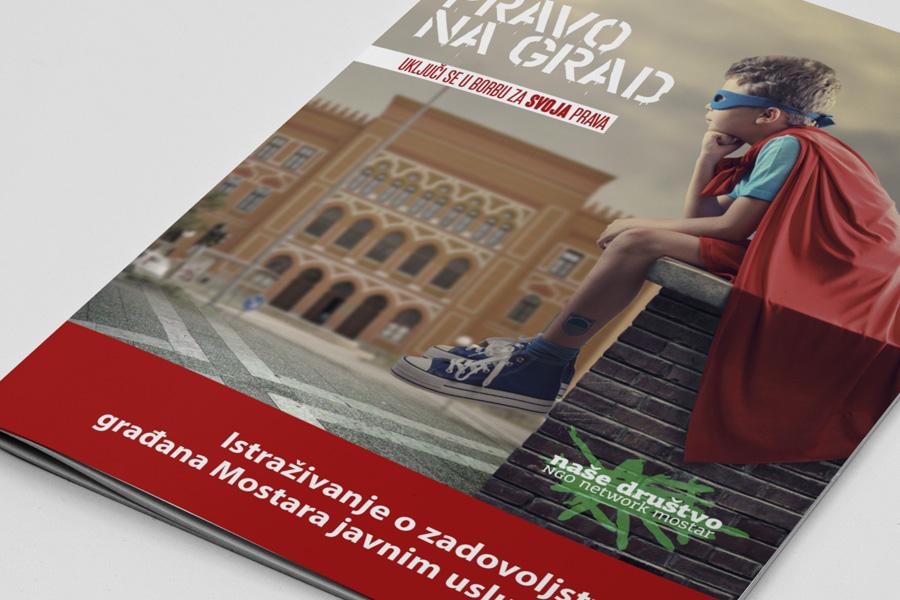 """Vizualni identitet kampanje """"Pravo na grad"""" dizajn brošure shift"""