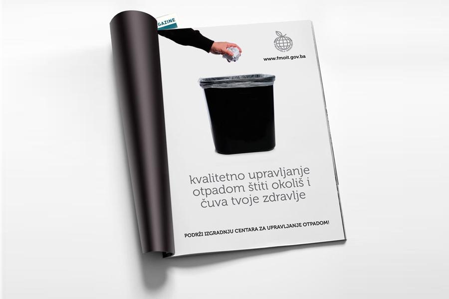 plakati i oglasi NIMBY kampanja , grafički dizajn