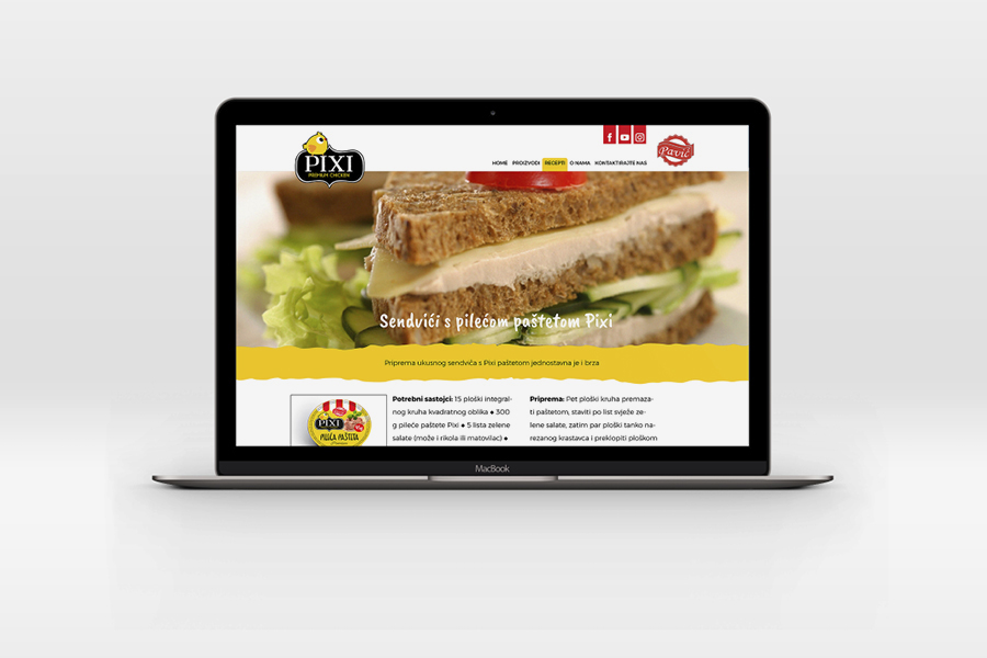 Identity, packaging and mini web site design of a new line of products