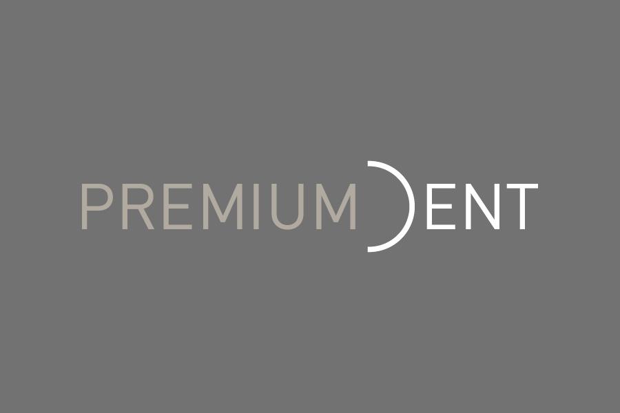 vizualni identitet poliklinike premium dent negativ logotipa shift agencija mostar