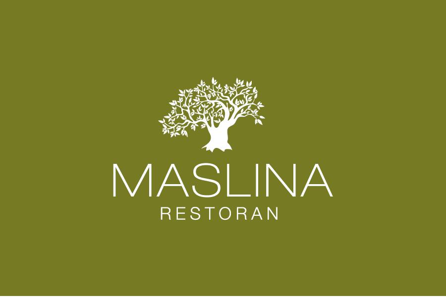 dizajn logotipa restoran maslina shift agencija mostar