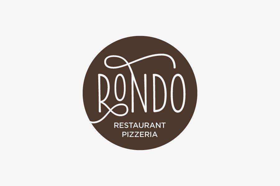 Vizualni identitet restorana Rondo, dizajn logotipa, shift agencija