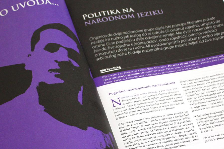 Grafička oprema magazina Status, dizajn, agencija