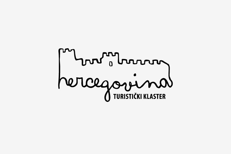 Vizualni identitet turističkoga klastera Hercegovina shift agencija mostar