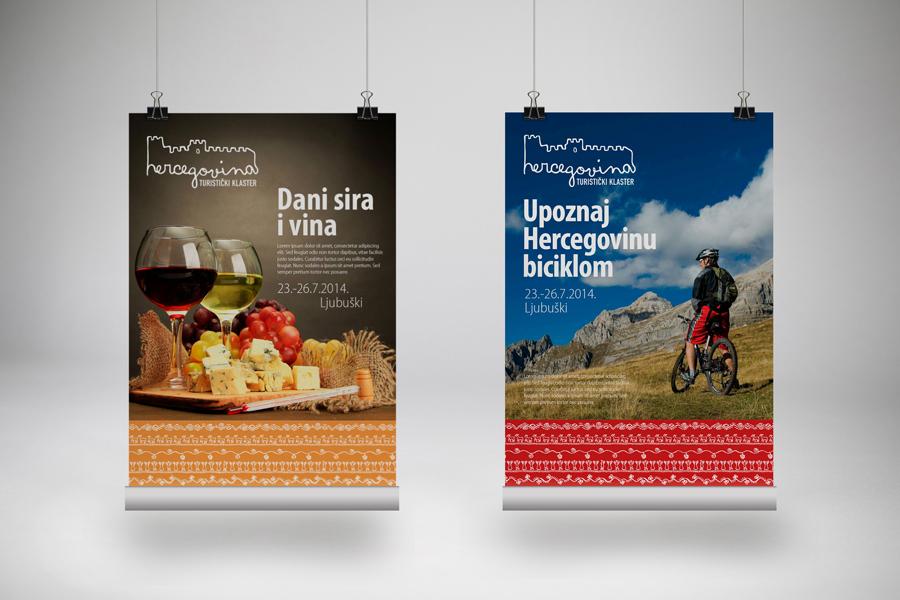Vizualni identitet turističkoga klastera Hercegovina shift.ba mostar