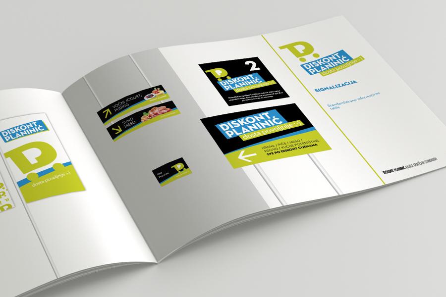 Vizualni identitet i promotivna kampanja lanca trgovina