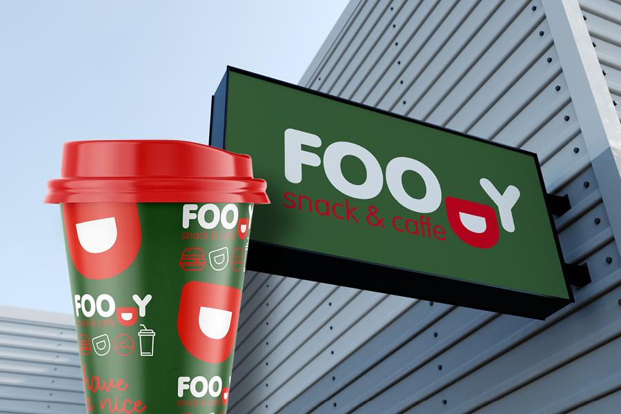 Vizualni identitet za Foody snack & caffe