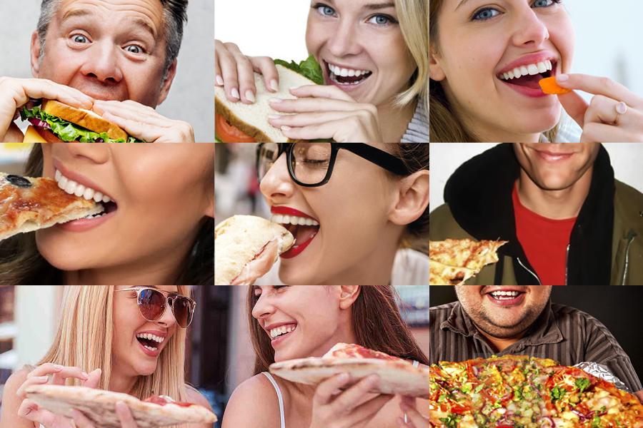 Vizualni identitet za Foody snack & caffe inspiracija