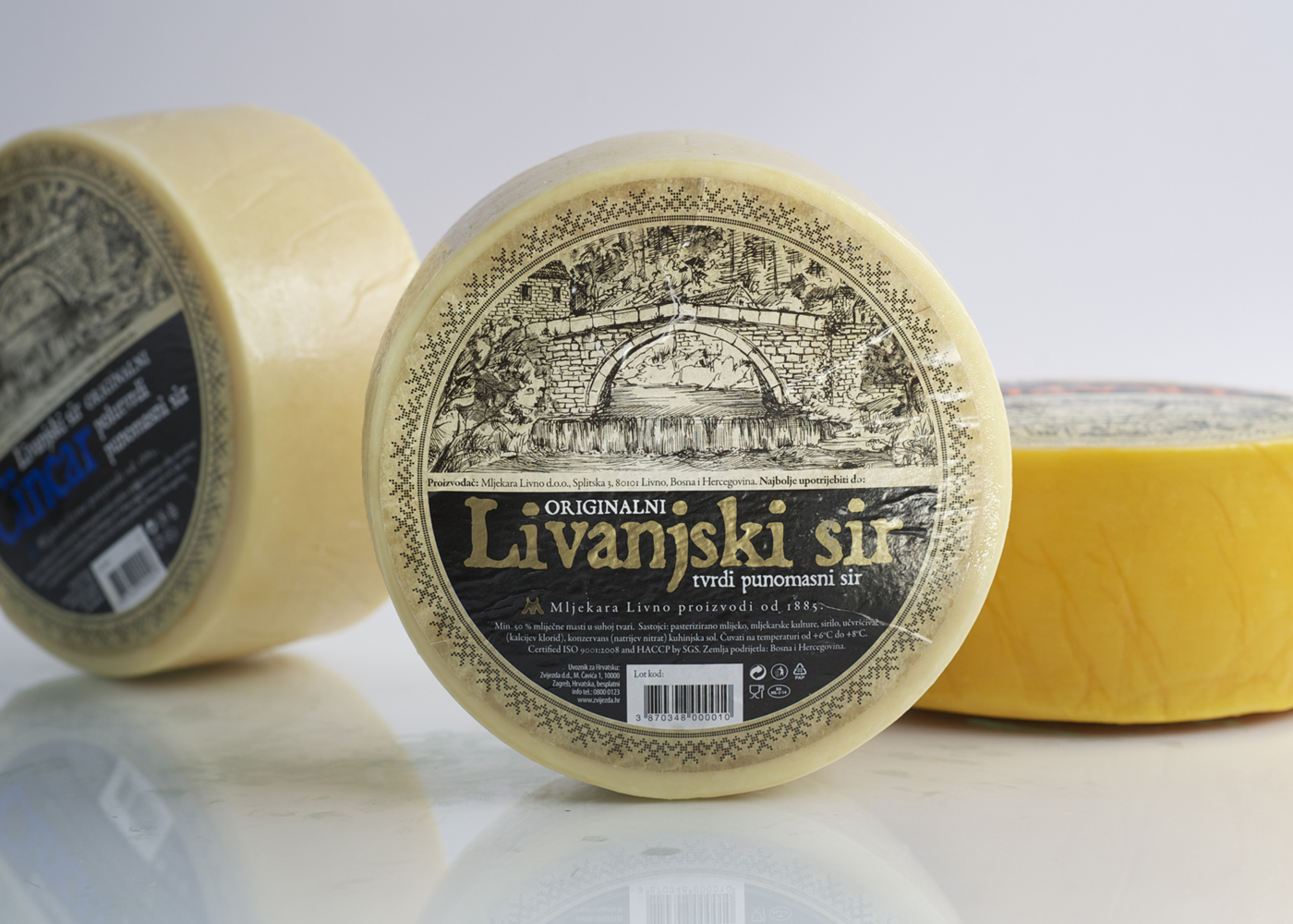 Label redesign - Livno Dairy