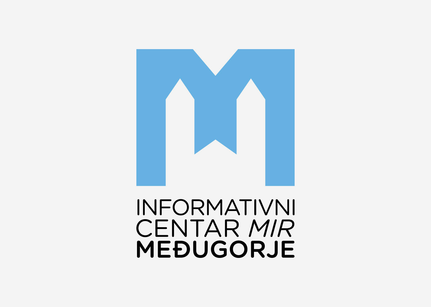 "Visual identity of the Information Centre ""Mir"" Međugorje"