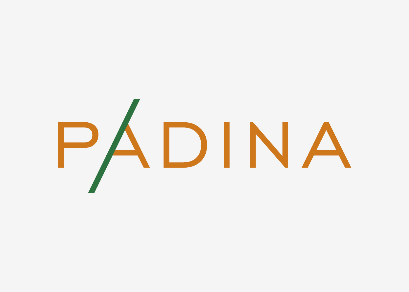 The Visual Identity and Web Shop for Padina Ltd