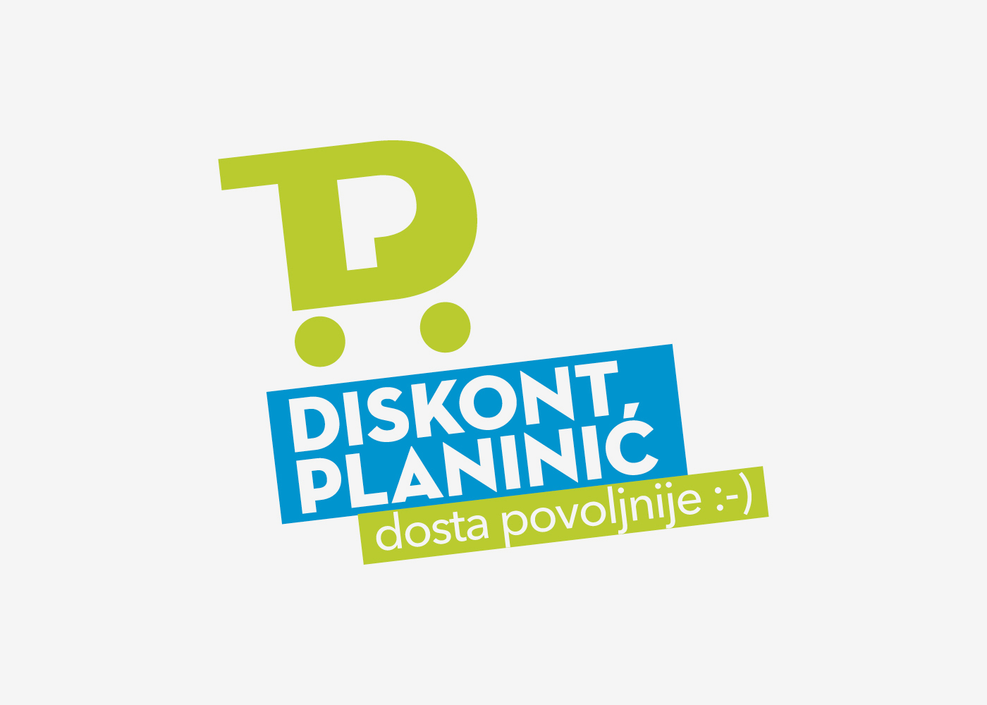 Visual identity and promotional campaign of domestic retail chain Diskont Planinic