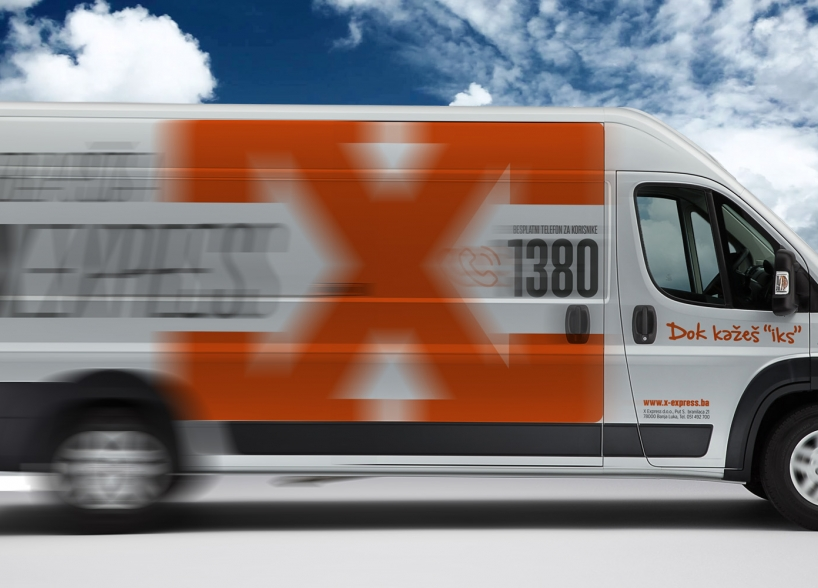 X-EXPRESS visual identity
