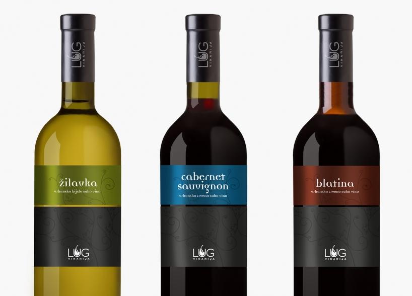 Vizualni identitet vinarije Lug