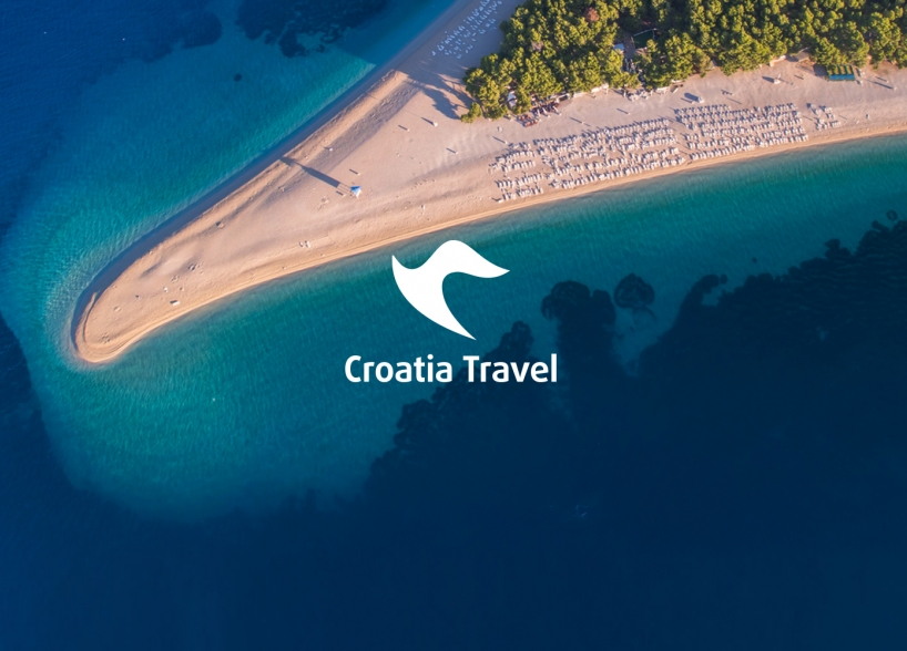 The visual identity of travel agency