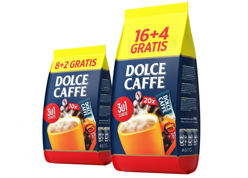 The Visual Identity of Product Collection – Dolce Caffe