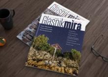 Magazin layout - Glasnik mira