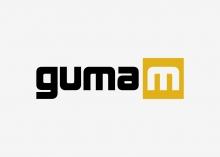 Guma M logo design