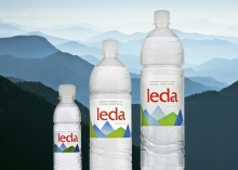 The visual identity of natural spring water