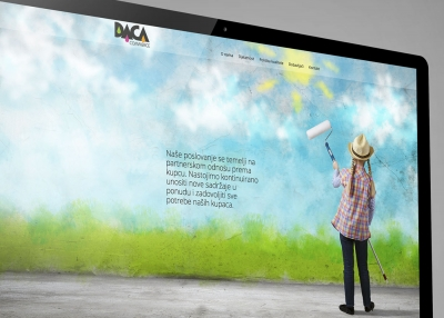 Dizajn vizualnog identiteta i web stranica