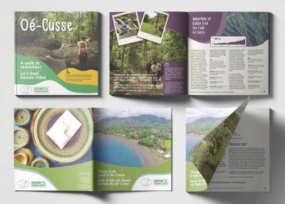 Dizajn turističkih brošura u Istočnom Timoru